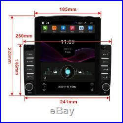 1 Din 10.1'' Android 8.1 16G Quad Core GPS Navi Car Stereo MP5 Player Bluetooth