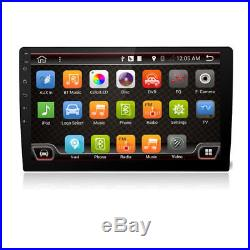 10.1 HD Touch Screen 1Din Car Stereo Radio Player GPS 3G/4G Wifi BT Mirror Link