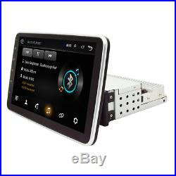 10.1In Rotatable Screen 1Din Android 9.0 GPS Bluetooth Car Stereo FM MP5 Player