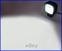 10 x 48W LED CRE Work Light Flood Beam Headlight For Jeep Tractor Truck 12v 24v