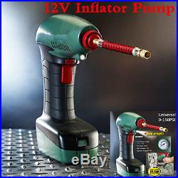 12V Portable Handheld Air Compressor Inflator Pump For Car Bike Tire Sports Ball