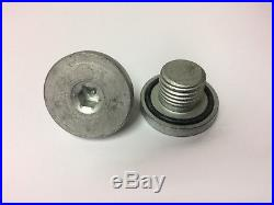 1x OIL SUMP DRAIN PLUG FOR VAUXHALL ASTRA CORSA BRAND NEW SILVER METAL