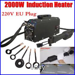 2000W Induction Heater Car Paintless Dent Repair Remover HotBox Instrument Tool