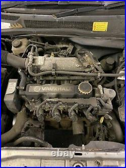 2001 VAUXHALL ASTRA G Mk4 1.6 8v Petrol Z16SE Complete Engine. Was Automatic