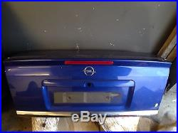 2002 52 Vauxhall Astra G MK4 Coupe Europa Blue Bootlid Tailgate