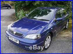 2004 VAUXHALL ASTRA SRI 1.8 16V BLUE MK4.'G' 3 DOOR GOOD CONDITION PX Welcome