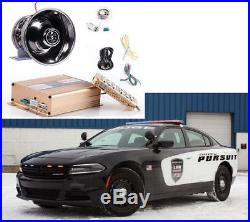 200W 12V Police Fire Siren Warning Alarm Sound Loud Horn for Car Auto PA Speaker