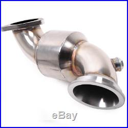200cpi Stainless Sports Cat Downpipe For Vauxhall Opel Astra H Mk5 Vxr Z20leh