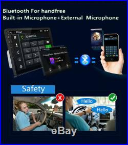 2019 10 Inch Android 8.1 OCTA CORE ROM 32GB Car Stereo Radio GPS Wifi 3G 4G