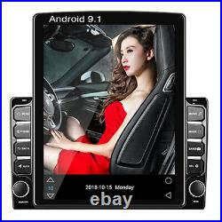 2DIN Android 9.1 9.7'' Car Stereo Radio MP5 GPS Navigation 4-Core 1+16GB Wifi BT