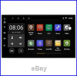 2Din 7Car Stereo Radio GPS Quad-Core 1G+16G Wifi 3G 4G Mirror Link Android 8.0