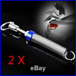 2x Adjustable Automatic Trunk Boot Lid Lifting Metal Spring Device Vehicle Parts