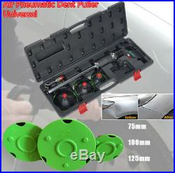 3 Size Air Pneumatic Dent Puller Car Body Repair Suction Cup Side Hammer Kit