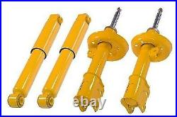 4 front rear sport lowering suspension shock absorber Opel Vauxhall Astra G MK4