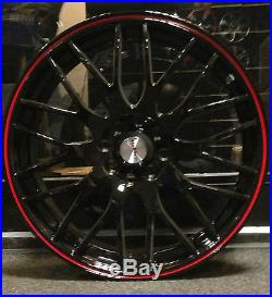 4 x 17 CALIBRE ALLOY WHEELS TO FIT FORD FIESTA FOCUS 4X100/108
