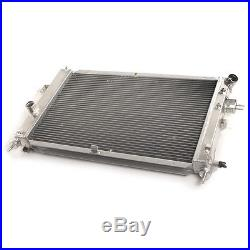 40mm Aluminium Alloy Race Radiator Rad For Mk4 Vauxhall Astra 1.4 1.6 1.8 98-04