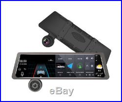 4G 10'' Touch IPS GPS Navitation Dual Lens DVR Recorder Camera Andorid Bluetooth