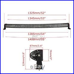 52inch 500W CURVED LED LIGHT BAR OFFROAD Fit For LAND ROVER FREELANDER/DISCOVERY