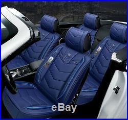 6D Microfiber Leather Car Seat Covers Cars Cushion Auto Accessories Car-Styling