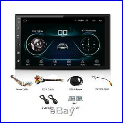 7 2 Din Android 8.1 Car Stereo Radio GPS Wifi 3G/4G BT DAB Mirror Link OBD