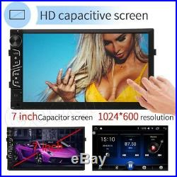 7 Android Car Radio GPS Navigation MP5 Stereo HD Head Unit Wifi Phone Link UK