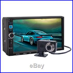 7'' Capacitive Android MP5 Unit Car GPS Navigation Bluetooth WIFI Stereo Radio