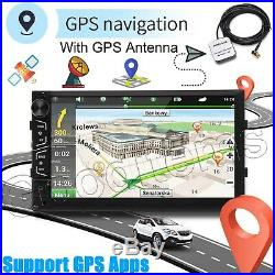 7 Double Din Android Car Stereo Radio GPS SAT NAV WiFi MLK+HD Camera For Audi