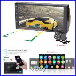 7Android 7.0 4-Core Audio Stereo Bluetooth 3.0 Wifi GPS FM Radio Car MP5 Player