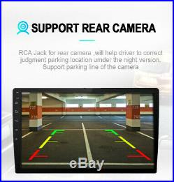 9 Touch Screen Android 8.1 Car Stereo Radio GPS Wifi Mirror Link With Rear Camera