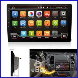 9HD Android 7.1 2Din Car GPS Stereo Radio Player Wifi 3G/4G Ultra Touch No DVD