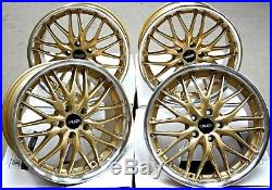 Alloy Wheels 18 Cruize 190 Gdp Gold Polished Deep Dish 4x100 18 Inch Alloys