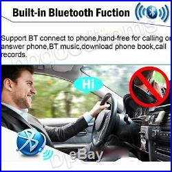 Android 6.0 Double DIN 7 Car Stereo GPS Sat Navigation WiFi 4G Radio Quad Core