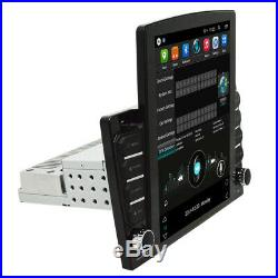 Android 8.1 1DIN 10.1In Vertical Screen Car Radio Wifi Bluetooth Player GPS Navi