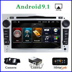 Android 9.1 DAB Car stereo Touch Screen DVD GPS MAP For Opel Vauxhall Holden DVR