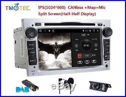 Android DAB+ Car stereo Touch Screen DVD GPS MAP For Opel Vauxhall Holden Camera