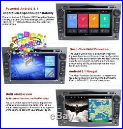 Android8.1 Car DVD GPS Stereo Radio for Opel Vauxhall Astra H Corsa C/D Meriva B