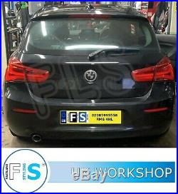BMW 1 Series Stainless Steel Exhaust Back Box Delete Supply and Fitted