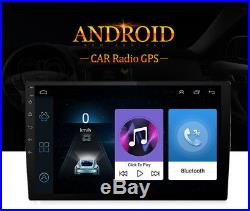 Car 9'' HD Stereo Radio Navigation Mirror Link Android 6.0 Head Unit 2G+32G MP5