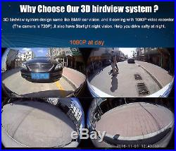 Car Off-Road 2017 Newestly HD 3D 360° Surround View System 4-CH 1080P Camera DVR