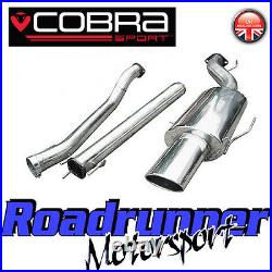Cobra Sport Astra GSI MK4 Exhaust System 3 Stainless Cat Back Non Res VZ04h