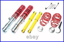 Coilover adjustable suspension lowering kit springs Opel Vauxhall Astra G MK4