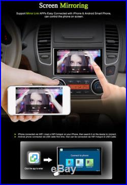 Digital Capacitive Touch Car Stereo Radio Vedio DVR GPS Wifi TV TPMS Android 7.1