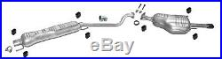 Exhaust system for Vauxhall Astra G 1.6 1.8 2.2 16V coupe convertible 3676