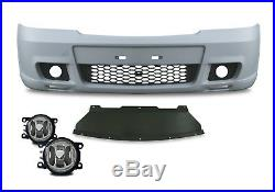 FRONT BUMPER With Fog lights FOR VAUXHALL OPEL ASTRA G MK4 SPORT ABS GSI OPC
