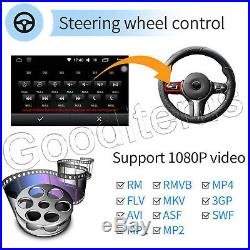 Fast Android 6.1 Double DIN 7 Car Stereo GPS Sat Nav DAB+ WiFi 4G Radio+Camera