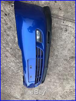 Genuine Vauxhall Astra G Mk4 Coupe/convertible Turbo Front Bumper Blue Z2ku