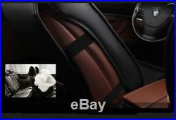 Luxury 6D PU Leather 5Seats Car Cushion Seat Covers Full Set Surrounded Cushion