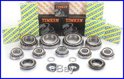 M20 Uprated Gearbox Rebuild Kit Contains 9 Bearings 4 Seals 2 Circlips