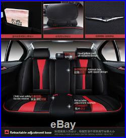 Microfiber Leather New 6D 5 seats Car Seat Cover Car Styling For Sedan SUV