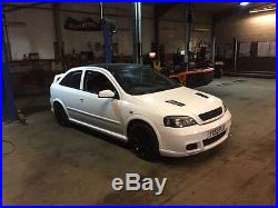Mk4 Vauxhall Astra Gsi in White (unfinished project)